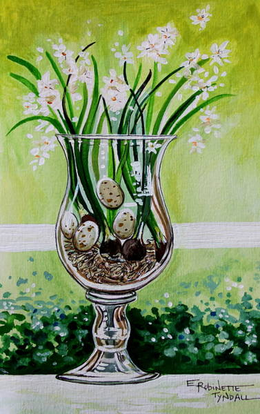 Painting - Sage Botanicals by Elizabeth Robinette Tyndall
