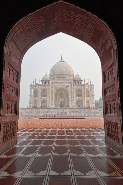 Photograph - Taj Mahal - Color by Stefan Nielsen