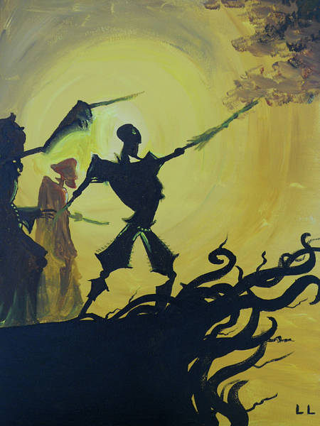 Wall Art - Painting - Three Brothers by Lisa Leeman