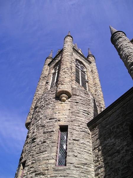 Wall Art - Photograph - Turrets Against The Sky by Eve Paludan