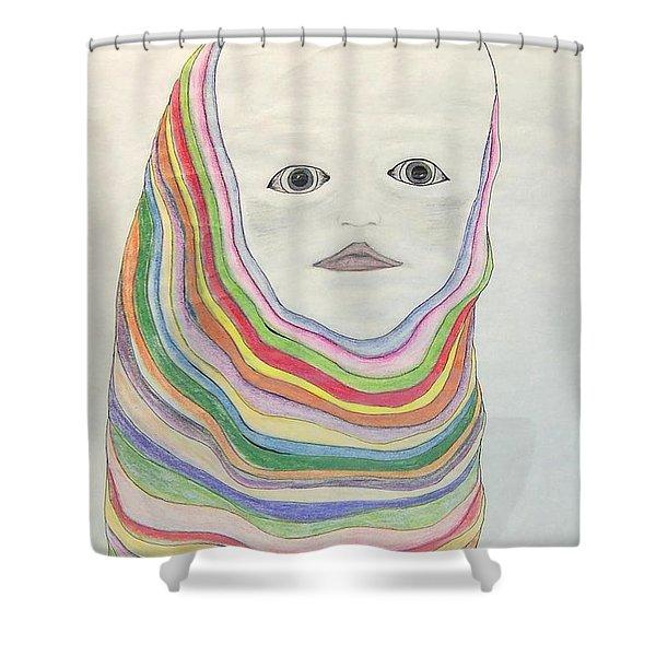 The Masks Shower Curtain
