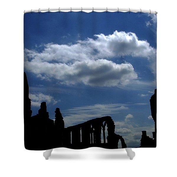 Abbey Skyline Shower Curtain