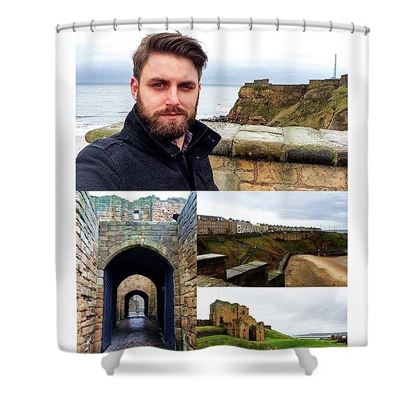 Beautiful Views Of The North Sea And Shower Curtain