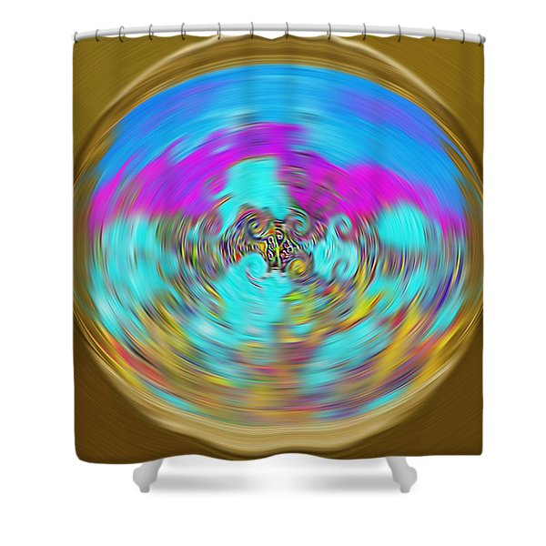 Enchanted View. Unique Art Collection Shower Curtain