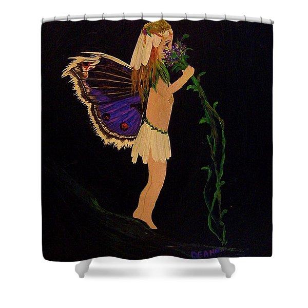 Fairy Girl Shower Curtain