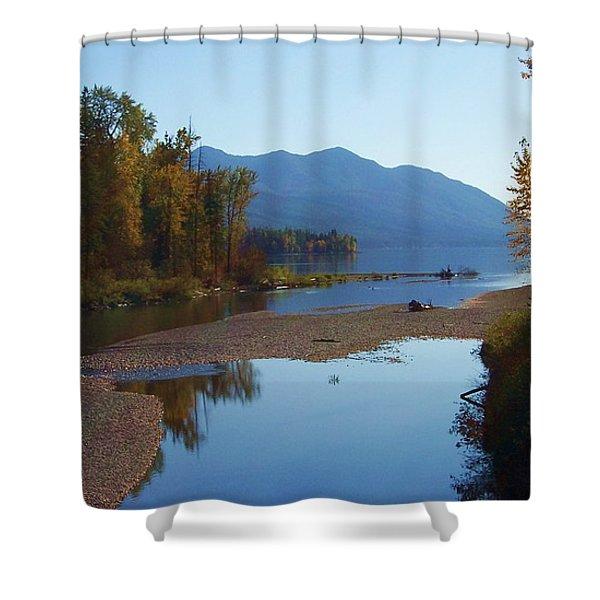 Glacier Park 11 Shower Curtain