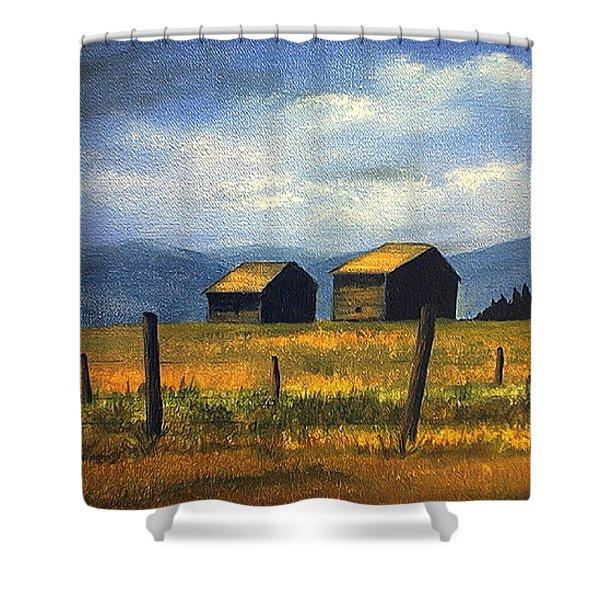 Kila Barns Shower Curtain