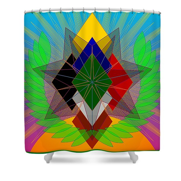 We N' De Ya Ho 2012 Shower Curtain