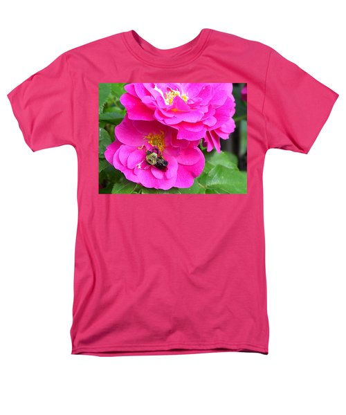 Jc And Bee Men's T-Shirt  (Regular Fit) by Mary-Lee Sanders