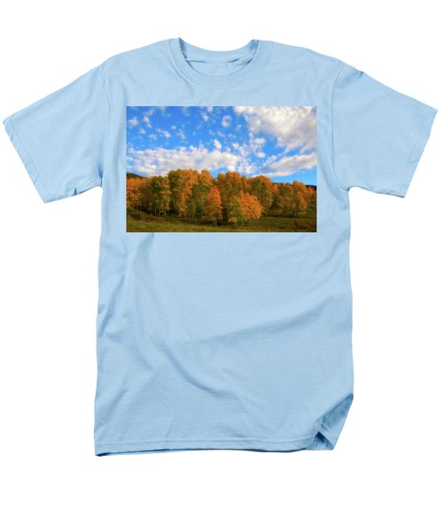 Men's T-Shirt  (Regular Fit) featuring the photograph Aspens by Steve Stuller