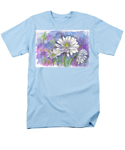 Men's T-Shirt  (Regular Fit) featuring the painting Daisy Three by Cathie Richardson