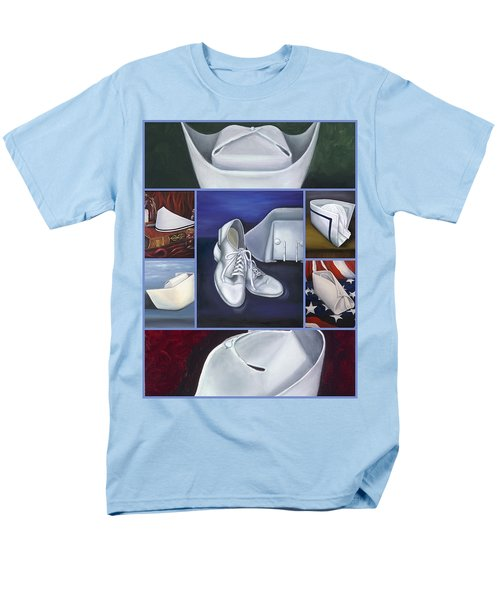 Men's T-Shirt  (Regular Fit) featuring the painting The Art Of Nursing II by Marlyn Boyd