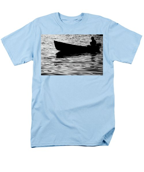 Men's T-Shirt  (Regular Fit) featuring the photograph The Old Fishermen by Pedro Cardona
