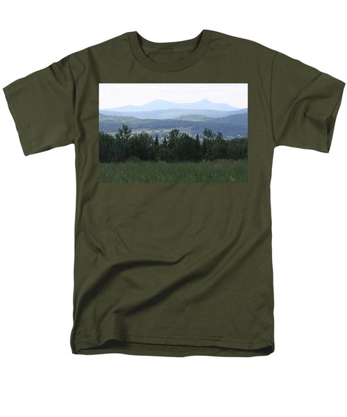 Jay Peak From Irasburg Men's T-Shirt  (Regular Fit) by Donna Walsh