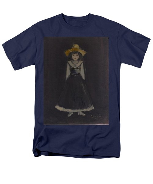 Men's T-Shirt  (Regular Fit) featuring the painting Just A Beautiful Country Girl... by Laurie L