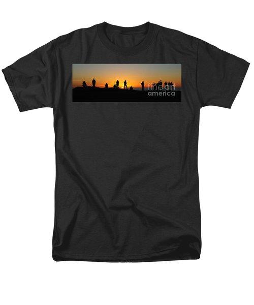 Panorama Everyone Likes A Sunset Men's T-Shirt  (Regular Fit) by Vivian Christopher
