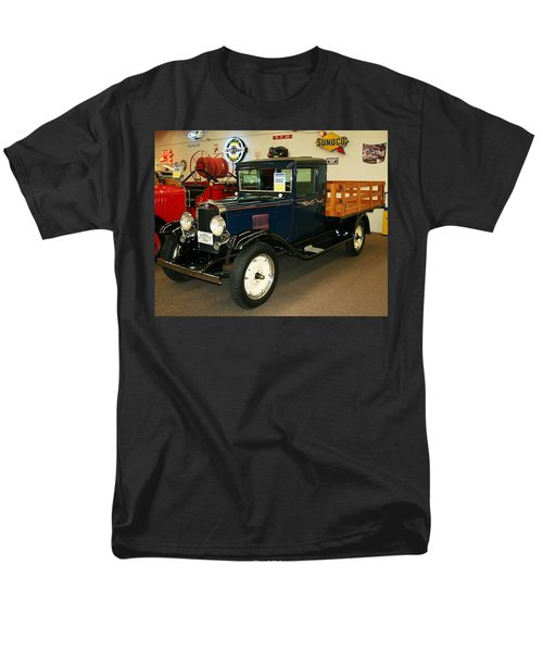 1930 Chevrolet Stake Bed Truck Men's T-Shirt  (Regular Fit) by John Black