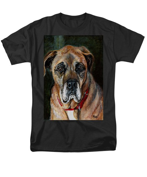 Boo For Dogtown Men's T-Shirt  (Regular Fit) by Mary-Lee Sanders