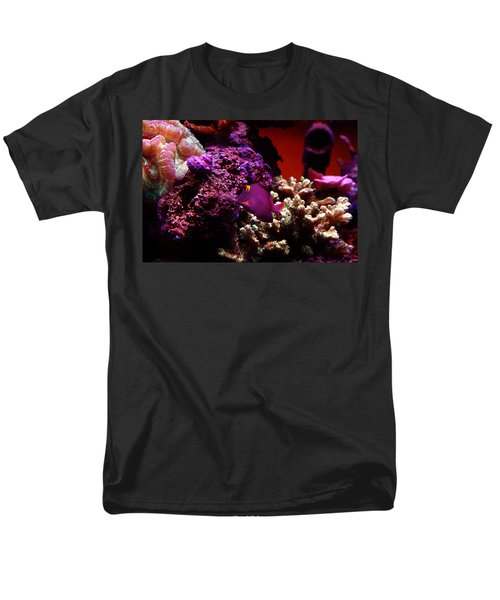 Men's T-Shirt  (Regular Fit) featuring the photograph Colors Of Underwater Life by Clayton Bruster