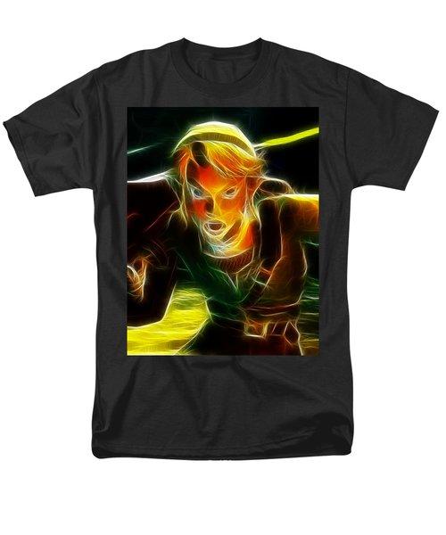 Magical Zelda Link Men's T-Shirt  (Regular Fit) by Paul Van Scott