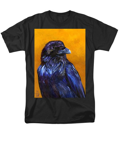 Raven Men's T-Shirt  (Regular Fit) by J W Baker