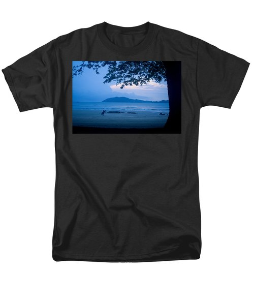 Strolling Surfer Men's T-Shirt  (Regular Fit) by Todd Breitling