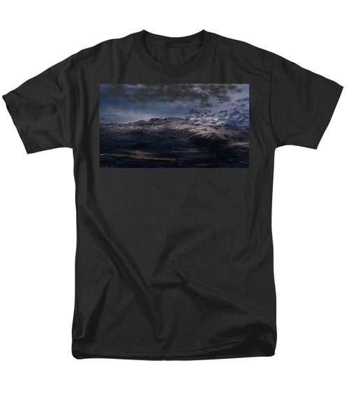 Troubled Waters Men's T-Shirt  (Regular Fit) by James Barnes