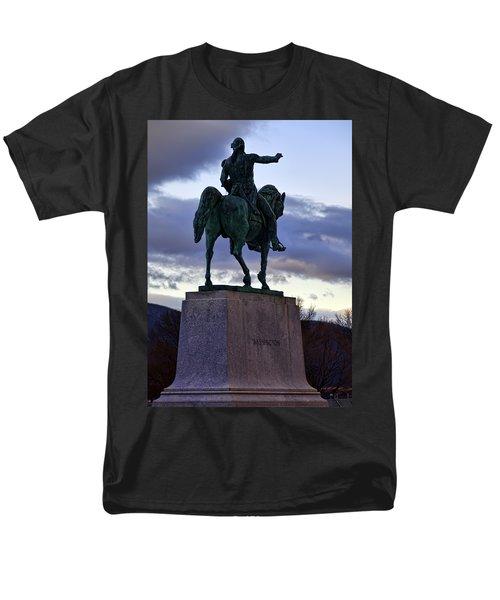 Washington Monument At West Point Men's T-Shirt  (Regular Fit) by Dan McManus