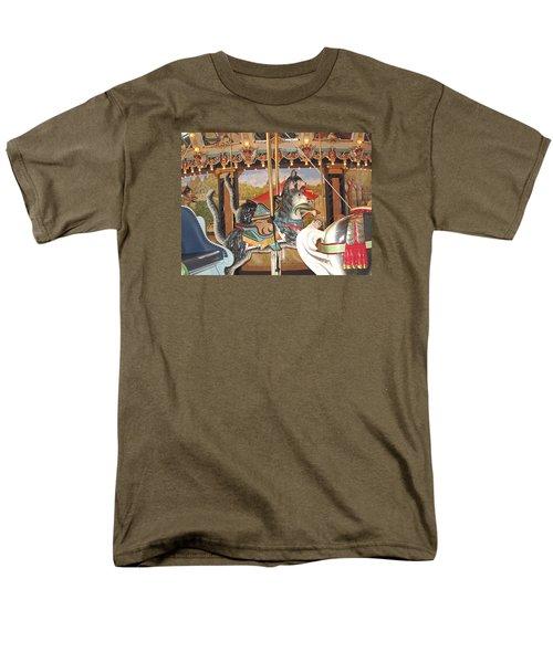 Men's T-Shirt  (Regular Fit) featuring the photograph Philadelphia Style Cats by Barbara McDevitt