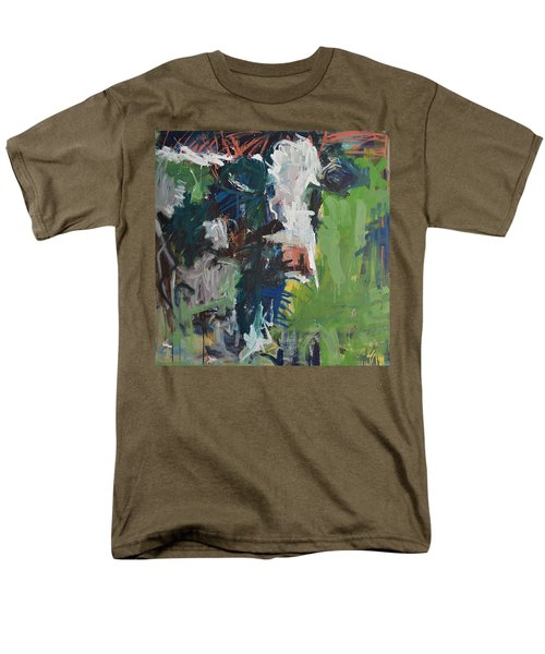 Cow Painting Men's T-Shirt  (Regular Fit) by Robert Joyner