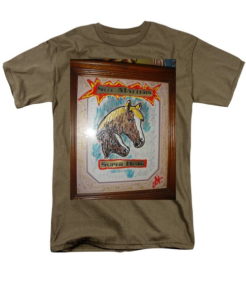 Horses Men's T-Shirt  (Regular Fit) by Lisa Piper