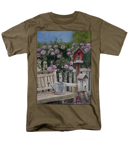 Take A Seat Men's T-Shirt  (Regular Fit) by Mary-Lee Sanders