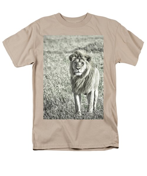The King Stands Tall Men's T-Shirt  (Regular Fit) by Darcy Michaelchuk