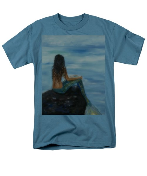 Mermaid Mist Men's T-Shirt  (Regular Fit) by Leslie Allen