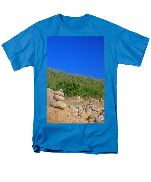 Cairn Dunes And Moon Men's T-Shirt  (Regular Fit) by Todd Breitling
