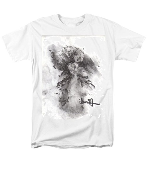 Men's T-Shirt  (Regular Fit) featuring the drawing Rapture Of Peace by Laurie L
