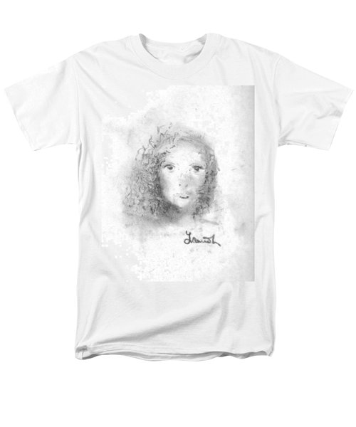 Men's T-Shirt  (Regular Fit) featuring the drawing Something About Mary by Laurie L
