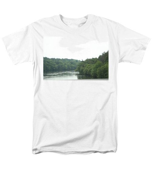 Mighty Merrimack River Men's T-Shirt  (Regular Fit) by Barbara S Nickerson