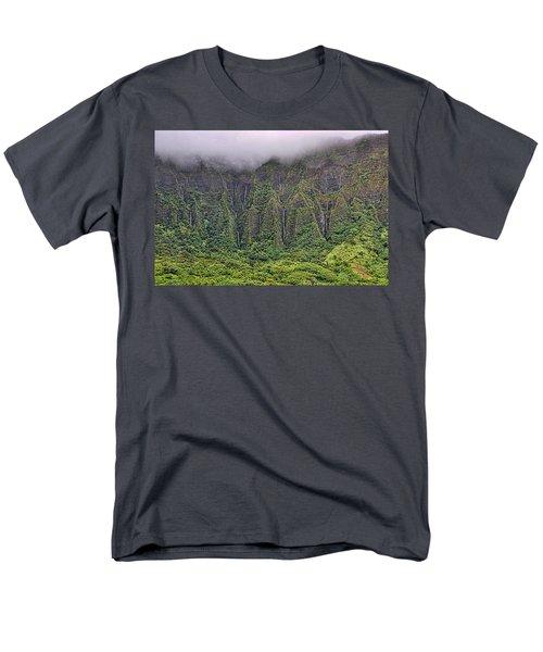 Ko'olau Waterfalls Men's T-Shirt  (Regular Fit) by Dan McManus