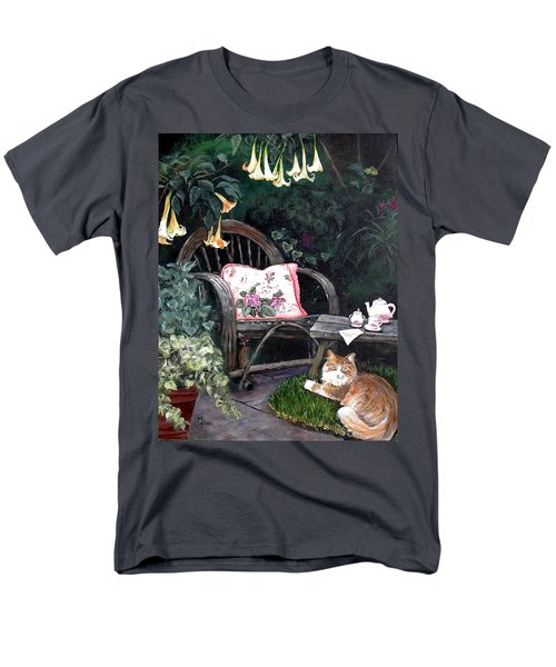 My Secret Garden Men's T-Shirt  (Regular Fit) by Mary-Lee Sanders
