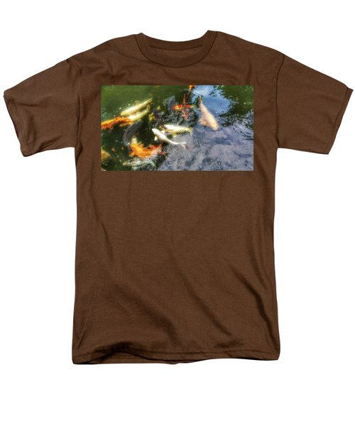 Reflections And Fish 6 Men's T-Shirt  (Regular Fit)