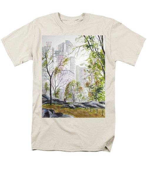 Central Park Stroll Men's T-Shirt  (Regular Fit)