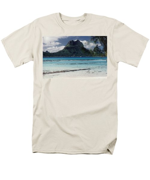 Men's T-Shirt  (Regular Fit) featuring the photograph Bora Bora by Mary-Lee Sanders