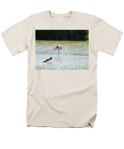 Flamingo Men's T-Shirt  (Regular Fit)