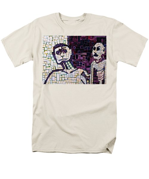 Men's T-Shirt  (Regular Fit) featuring the painting Lost Boys by Donna Howard