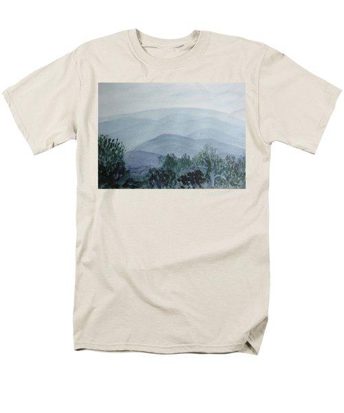 Misty Shenandoah Men's T-Shirt  (Regular Fit) by Donna Walsh