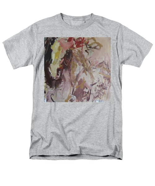 Men's T-Shirt  (Regular Fit) featuring the painting Abstract Horse  by Robert Joyner