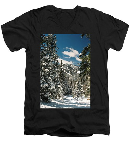 Fresh Powder Men's V-Neck T-Shirt
