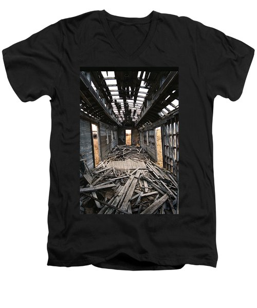 Ghost Train Men's V-Neck T-Shirt