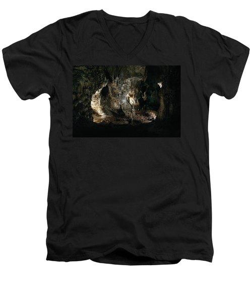 Carlsbad Tunnels Men's V-Neck T-Shirt